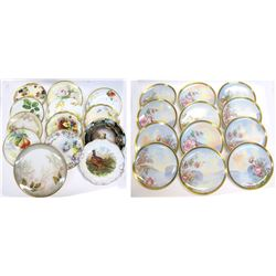 Antique Hand Painted China from Europe