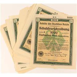 49 German Bonds