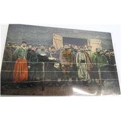 Turkish Prison Camp Postcard