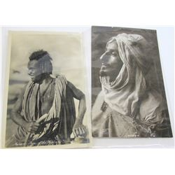 Two Natives: Black & White RPCs of Bedouin and Bisharin