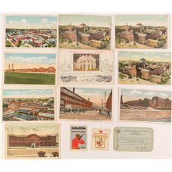 Gun Makers of America Postcards, Stamps and Membership Card