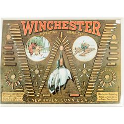 Reproduction Winchester Bullet Board