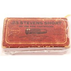 .25 cal. Stevens Short Cartridges