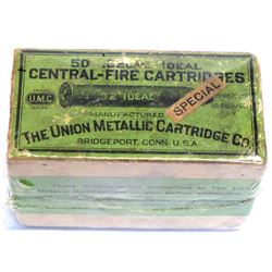 .32 caliber Ideal central-fire Cartridges