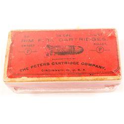 .38 cal. Peters rim-fire Box