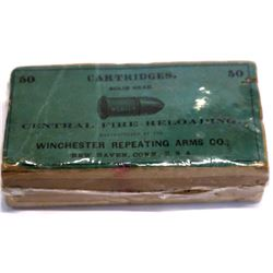 .44 Webley center fire Winchester Cartridges