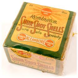 Box of 12 gauge Remington paper Shotgun Shells