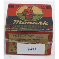 Monark Trap Shells U.S. Property Marked