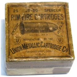 Spencer .56-50 UMC Cartridges