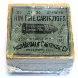 Spencer .56-56 rim-fire Cartridges