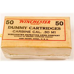.30 cal. M1 Winchester DUMMY Cartridges