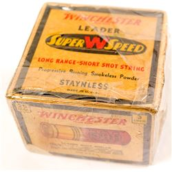 12 gauge Winchester Super W Speed paper 3 in. shotgun shells