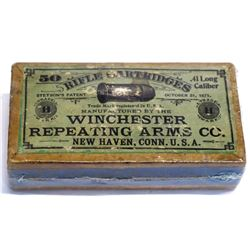 Winchester .41 Long rifle Cartridges