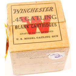 Winchester .45 cal. Gatling Gun Blanks