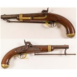 U.S. Army Percussion Pistol Model 1842