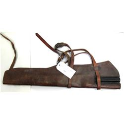 Boyt Leather US Rifle Scabbard