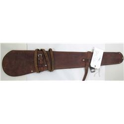 Victor Ario Leather Rifle Scabbard