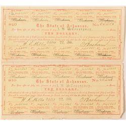 Arkansas Civil War Bond, Act of 1861