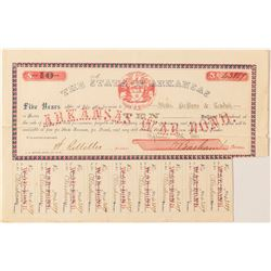 Arkansas Civil War Bond, Act of 1861