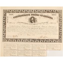 Confederate $100 Bond, Act of 1861
