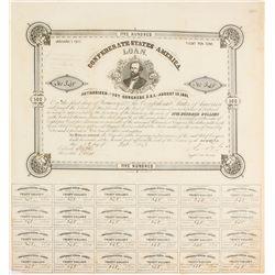 Confederate $500 Bond, Act of 1861
