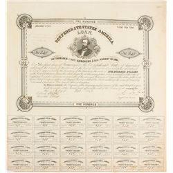 Confederate $500 Bond, Act of 1861