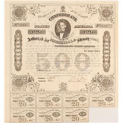Confederate $500 Bond Act of 1863