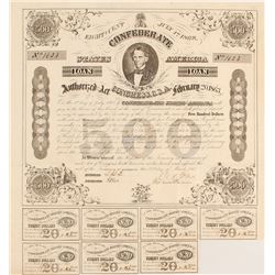 Confederate $500 Bond Act of 1863
