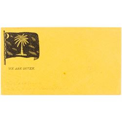 """We Are Seven"" South Carolina Confederate Flag Envelope"