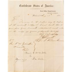 Civil War Confederate Letterhead