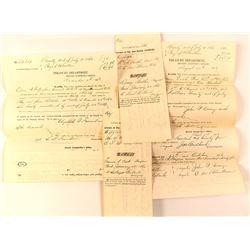 Civil War Vouchers for Deceased Soldiers