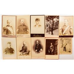 Military Related CDV's