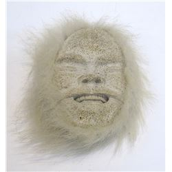 Whale Bone Eskimo Mask