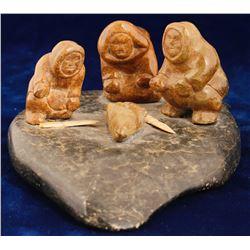 Eskimos at the Kill Sculpture