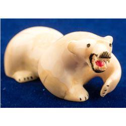 Ivory Polar Bear Fetish
