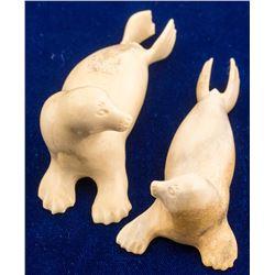 Ivory Seal Fetishes