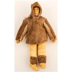 Medium Size Eskimo Doll