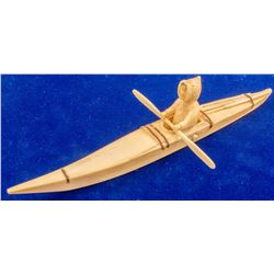 Smaller Ivory Kayak
