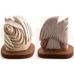 Indian Maiden/Eagle Sculpture, Victor M. Vigil