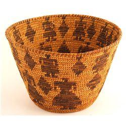 Tohono O'odham Pictorial Basket