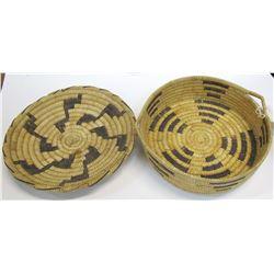 Two Akimel O'odham Baskets