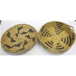 Two Akimel O'odham Baskets