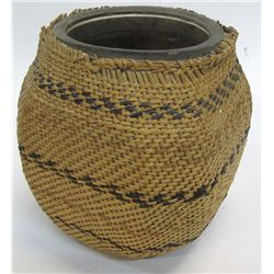 Paiute Basket Wrapped Jar