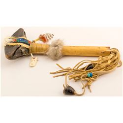 Great Lakes Region Ceremonial Rattle