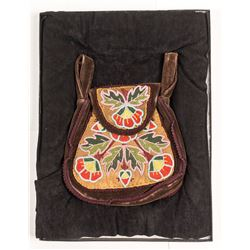 Ojibwe Beaded Belt Bag