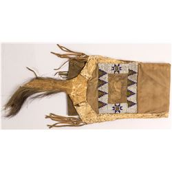 Sioux Pipe Bag--Beaver and Army Cloth