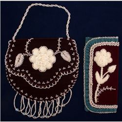 Two Iroquois Beaded Bags