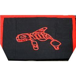 Button Blanket, Whale Design