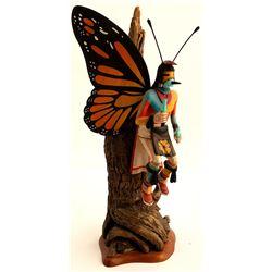 Butterfly Kachina by Lawrence L. Acadiz