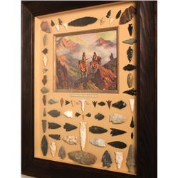 Pomo Region Projectile Point Collection